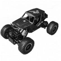 Автомобиль OFF-ROAD CRAWLER на р/у – TIGER (матовый черный, аккум. 4,8V, метал. корпус, 1:18) от Sulong Toys - под заказ