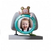 Обзорное зеркало в автомобиль для родительского контроля за ребенком - ТРОПИКИ от Taf Toys - под заказ