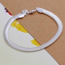 Браслет Tiffany (TF140). Покрытие серебром 925