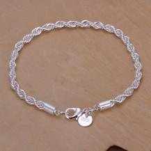 Браслет Tiffany жгут (TF141). Покрытие серебром 925
