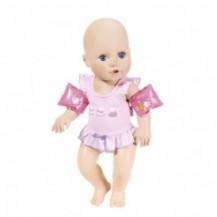 Интерактивная кукла BABY ANNABELL - НАУЧИ МЕНЯ ПЛАВАТЬ (43 см, с аксессуарами, плавает в воде) от Zapf - под заказ