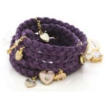 Браслет в стиле Juicy Couture, Purple