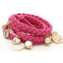 Браслет в стиле Juicy Couture, Pink