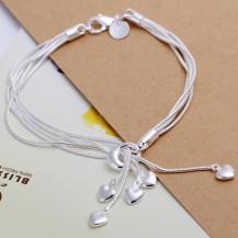 Браслет Tiffany (TF142). Покрытие серебром 925