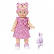Интерактивная кукла MY LITTLE BABY BORN - УЧИМСЯ ХОДИТЬ (32 см, с погремушкой, ходит, озвучена) от Zapf - под заказ