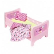 Кроватка для куклы BABY BORN - СЛАДКИЕ СНЫ (с постельным набором) от Zapf - под заказ