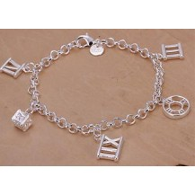 Браслет Миллениум Tiffany (TF-H184). Покрытие серебром 925