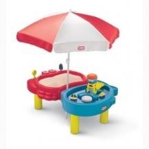 Песочница-стол - ТИХАЯ ГАВАНЬ (для песка и воды, с аксессуарами) от Little Tikes - под заказ