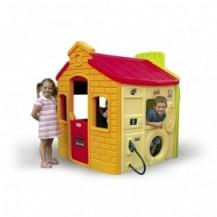 Игровой домик - СУПЕРГОРОДОК (спортплощадка, школа, магазин, заправка) от Little Tikes - под заказ