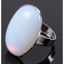 Кольцо с лунным камнем все размеры (t10)