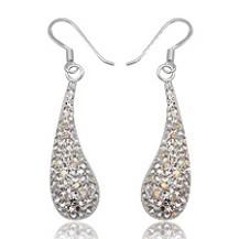 Серьги TN222.Серебро 925 с кристаллами Swarovski