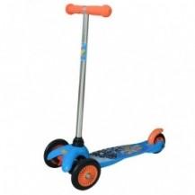 Скутер лицензионный - HOT WHEELS (3-х колесный, 2 колеса впереди, тормоз) от Лицензионные скутеры - под заказ