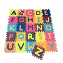 Детский развивающий коврик-пазл - ABC (140х140 см, 26 квадратов) от Battat - под заказ