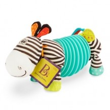Развивающая игрушка - ЗЕБРА-ТЯНУБРА (2 музыкальных режима) от Battat - под заказ