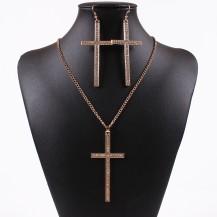 Набор Крестики белые камни (TL9305)