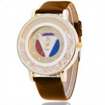 Часы женские Rinnady Кристалл Шоколад 062-1