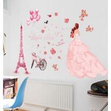 Интерьерная наклейка на стену Париж XL8265