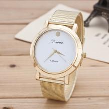 Часы женские Geneva Platinum Dot 139-1 Белые. Уценка
