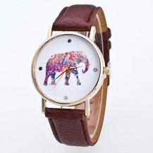 Часы Женева Geneva Слон Шоколад 020-04