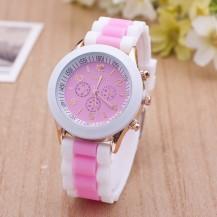 Часы наручные женские GENEVA sport розовые