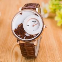 Часы женские Кей 104-5 шоколад
