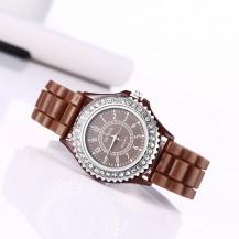Часы женские GENEVA Luxury Женева Шоколад