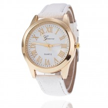 Женские часы Geneva Женева белый ремешок 124-1