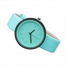 Часы наручные в японском стиле мята 073-3