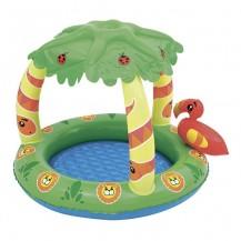 Детский бассейн с защитой от солнца Джунгли (от 1 года)