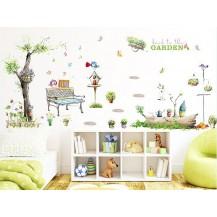 Интерьерная наклейка на стену Сад XL7093