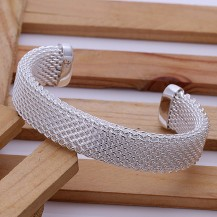 Браслет Tiffany (TF-b029). Покрытие серебром 925