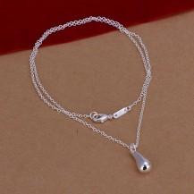Кулон на цепочке Tiffany (TF-N177). Покрытие серебром 925