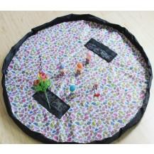 Коврик органайзер для игрушек 150см Птички (экстра плотный)