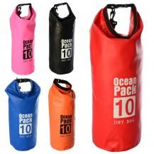 Водонепроницаемый рюкзак Ocean Pack 10л, Непромокаемая сумка для плавания