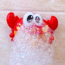 Музыкальный краб для ванной с пеной