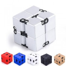 Бесконечный куб infinity cube белый с черными уголками