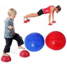 Массажная полусфера балансир для детей и взрослых