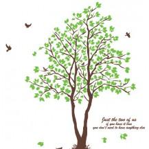Интерьерная наклейка на стену Дерево (ay698b)