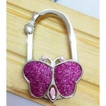 Вешалка держатель для женской сумочки Бабочка
