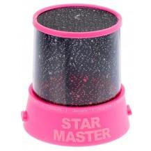 Проектор звездного неба Star Master с адаптером 220V, розовый