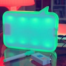 LED доска - ночник для записей с диктофоном