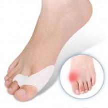 Двойные Гелевые накладки Valgus Pro для коррекции больших пальцев стопы (Валгус Про) телесные