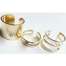 Комплект Золотистых колец tb1015