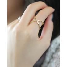 Кольцо золотистое tb1112