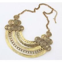 Ожерелье колье золото антик tb1131