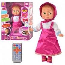 Интерактивная кукла Маша с пультом (800 фраз, сказки, песни и др) уценка