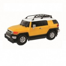 Автомодель - TOYOTA FJ CRUISER (ассорти желтый, голубой,1:26, свет, звук, инерц.) от GearMaxx - под заказ