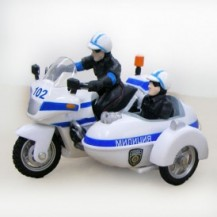 Автомодель - МОТОЦИКЛ (свет, звук) от Технопарк - под заказ