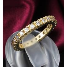 Кольцо Tiffany Камни по кругу Размер 18 (TF-R531-18)