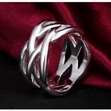 Кольцо Tiffany Переплетение Размер 18 (TF-R010-18)